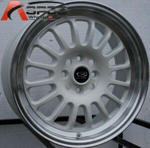 15 Rota Track R Wheel Tire 4x100 Civic Crx Cobalt Neon