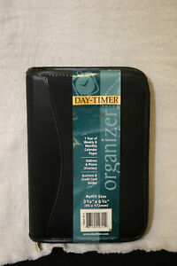 Day Timer 49711 Planner Organizer Case Refillable 3 3 4 X 6 3 4