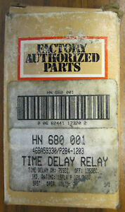 Carrier Motor Control Time Delay Relay Hn680001