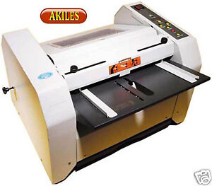 Akiles Bookletmac Booklet Maker Semi Automatic Folder Stitcher Stapler New