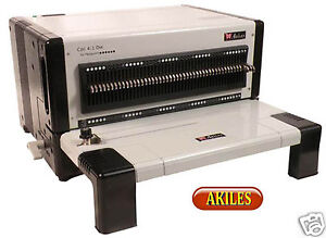 Akiles Flexipunch e Electric Paper Punch With Choice Of Die 12 inch new