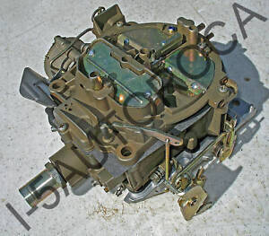 Rochester Quadrajet Completely Restored Carb 1972 73 74 Olds 350 Electric Choke