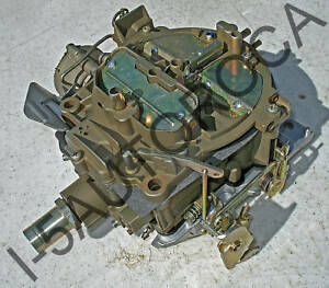 Rochester Quadrajet Completely Restored Carb 1972 73 74 Olds 455 Electric Choke