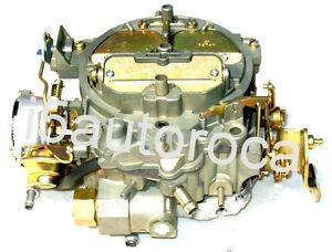 Rochester Quadrajet Carburetor 350 Chevy Truck With Climatic Or Hot Air Choke