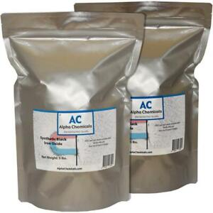 10 Lb Synthetic Black Iron Oxide Fe3o4 1 Micron Particle Size