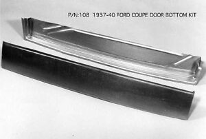 Ford 4 Door Sedan Business Coupe Delivery Door Kit Right 1937 1940 108r Ems