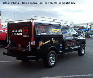 Service Utility Body Truck Ladder Rack 8 Bed Extended Crew King Cab