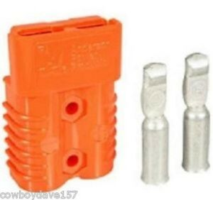 Anderson Sb175 Connector Kit Orange 2 Awg 6327g5 10 Pack Includes Shipping