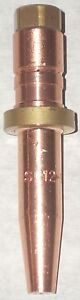 2 Sc12 0 Acetylene Cutting Torch Tip Fits Smith Sc Size 0
