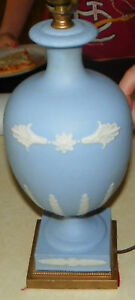 Blue Wedgwood Decorative Table Lamp Hd81