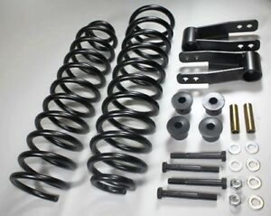 Fits 3 Front 2 Rear Adjustable Lift Kit For Jeep Cherokee Xj 84 01