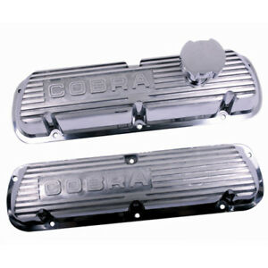 Ford Performance Mustang Cobra 5 0l Polished Efi Valve Cover Set M 6000 d302