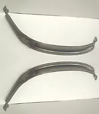 Ford Roadster Phaeton Coupe Tudor Cabriolet Sedan Front Fender Brace Set 32 1932
