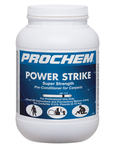 Carpet Cleaning Prochem Powerstrike 6 5lb Jar
