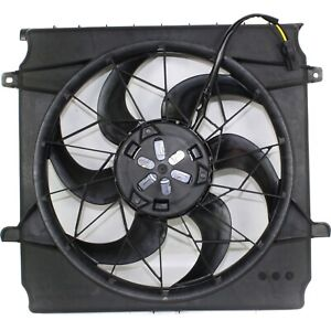 Radiator Cooling Fan For 2002 2004 Jeep Liberty W Blade Motor