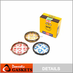83 89 Toyota Corolla Gts Fx16 Mr2 Nova 1 6l Npr Piston Ring Set 4age 4agelc 4alc