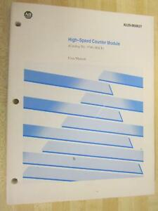 Allen Bradley 1746 hsce User Manual 1746hsce Owners Manual