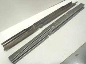 Ford Model A Coupe Rear Half Subrail Sub Rail Set 1928 1929