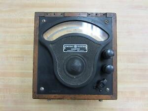 General Electric 3613091 Antique Amp Meter Vintage Industrial 39032