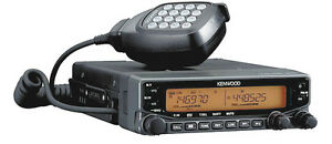 Kenwood Tm v71a Vhf uhf Hi Power Field Programmable Dual Band Two Way Radio New