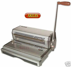 Akiles Coilmac m Coil Binding Machine Punch 4 1 Oval Holes 13 inch new