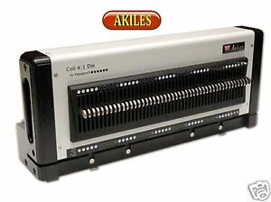 Akiles Flexipunch 4 1 Pitch Die For Coil Binding new Die Only