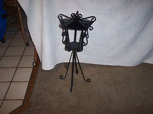 Victorian Black Iron Plant Stand Fern Stand Ps40