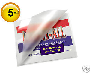 Lam it all Hot Laminating Pouches 12 X 15 pk Of 100 Brochure Clear 5 Mil