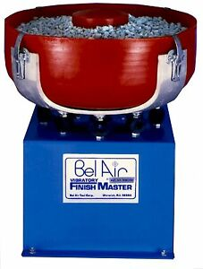 Fm 2010 Finish Master Vibratory Finishing Machine 1 2 Cubic Foot Polish Deburr