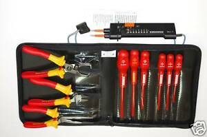 Facom 1000 V Insulated Tool Kit Screwdrivers Multimeter