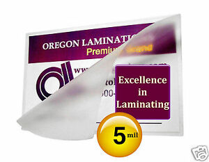 500 4x6 Video Card 5 Mil Hot Laminating Pouches 4 X 6 By Oregon Laminations