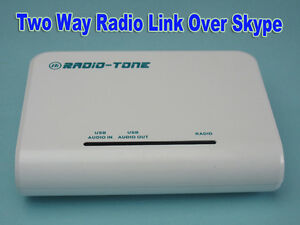 Radio tone Radio Over Skype Controller Rt roip1 Easy Install Good Performance