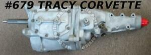 1963 Corvette Borg Warner 4speed Transmission Chevrolet Close Ratio Small Flange