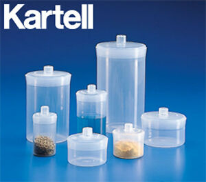 Weighing Bottle Set Polypropylene