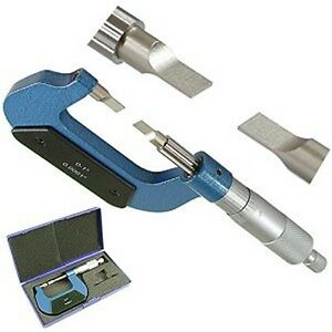 Pro Precision 0 1 Outside Blade Micrometer 0 0001 New