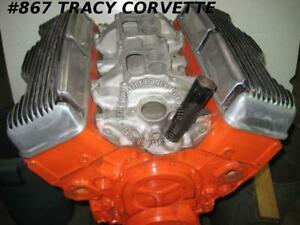1961 64 Chevy Rebuilt 409 Date Choice Engine Assembly Less External Accessories