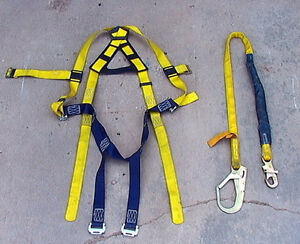 Sala Delta Safety Harness Vest Any Size Sala Ez Stop Iii Shock Absorber Lanyard