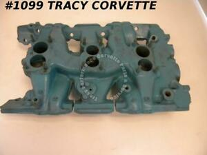 1962 Pontiac 541690 3x2 Tri Power Intake Iron Manifold Dated K 30 1 Nov 30 61