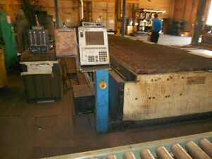 Messer Metalmaster Ii 6 X 20 Plasma Cutting System Flame Table