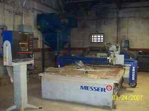 Messer Promaster Ii 6 X 12 Plasma Cutting System Flame Table