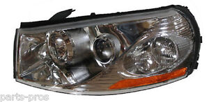 New Replacement Headlight Assembly Lh For 2003 05 Saturn L Series