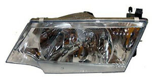 New Replacement Headlight Assembly Lh For 1998 Nissan 200sx 1999 Sentra