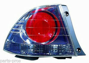 New Replacement Taillight Lamp Assembly Lh For 2004 05 Lexus Is300 4 dr Sedan