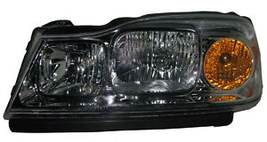 New Replacement Headlight Assembly Lh For 2006 07 Saturn Vue