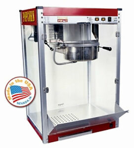 Commercial Popcorn Machine 12 Oz Theater Popper Maker Paragon Tp 12