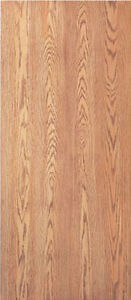Flush Solid Core Interior Red Oak Stain Grade Wood Doors 6 8 Tall X 1 3 8 Thick