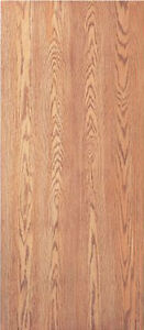 Flush Solid Core Interior Red Oak Stain Grade Wood Doors 6 8 Tall X 1 3 4 Thick