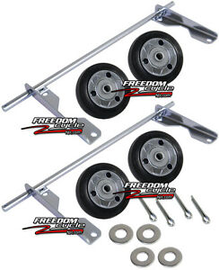 Honda Eu3000is Eu3000 Eu 3000 Generator 4 Wheel Kit Wheels Dollie 06423 zs9 t30