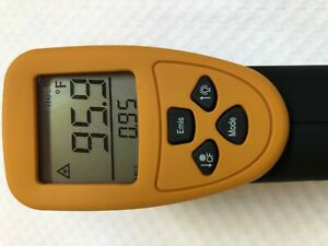 Digital Infrared Thermometer W laser Pointer Quick Body Surface Temperature Scan