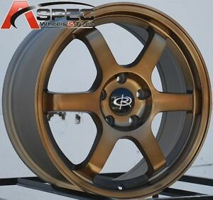 17x7 5 Rota Grid Wheels 5x114 3 Rims Et45mm Fits Honda Accord 1998 Present
